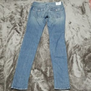 TRUE RELIGION SKINNY JEANS LONG LENGTH NEW